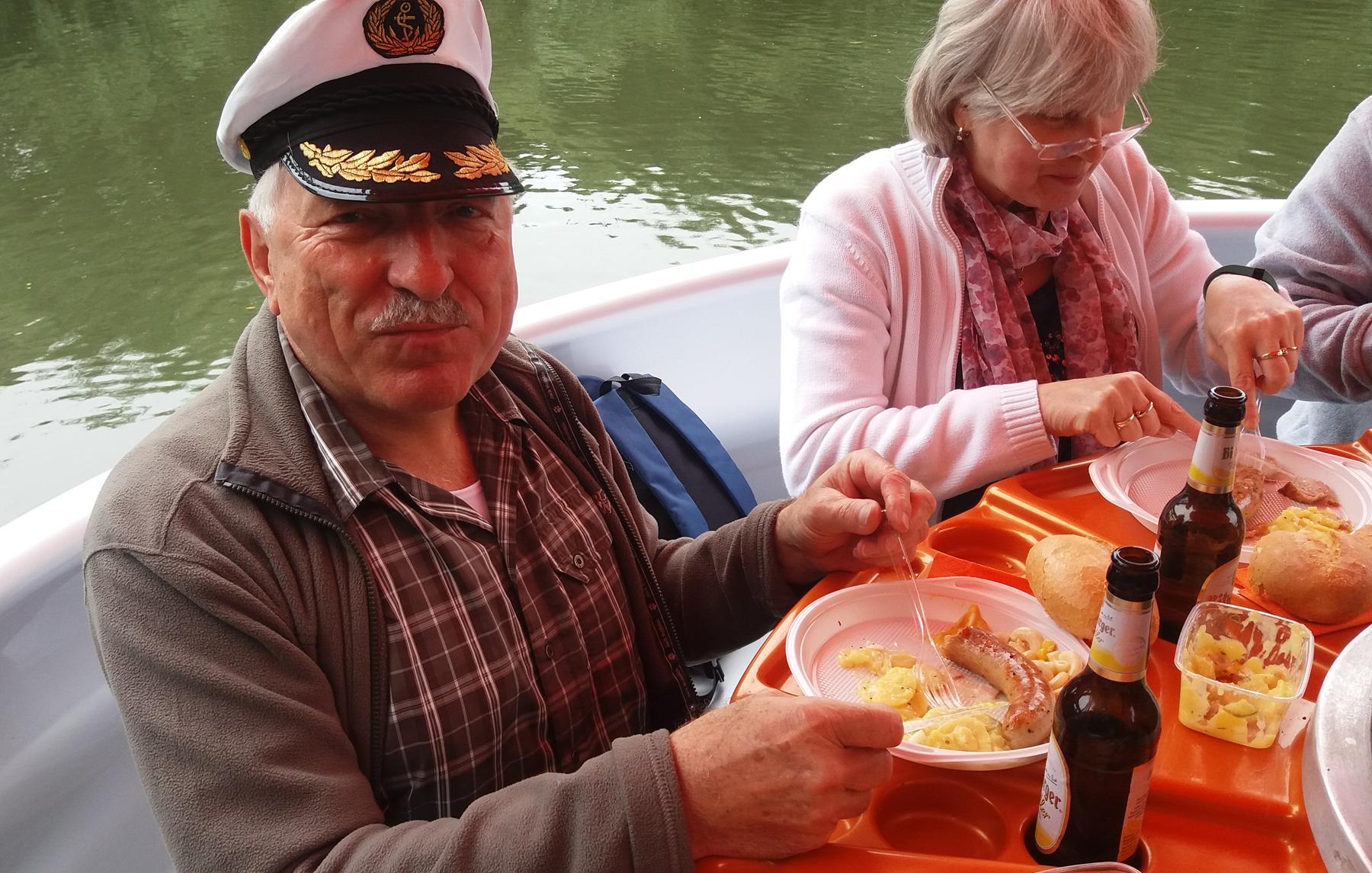 Kapitän Hopf im Einsatz